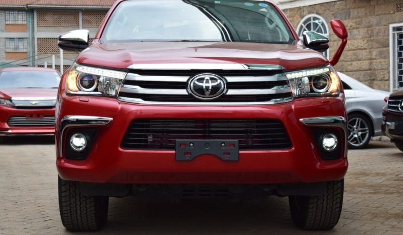 Toyota Hilux Double Cabin 2018 full