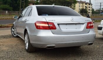 Mercedes-Benz E350 2013 full