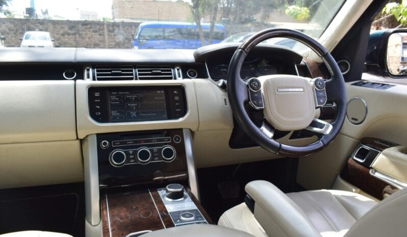Land Rover Range Rover Vogue Autobiography 2014 full