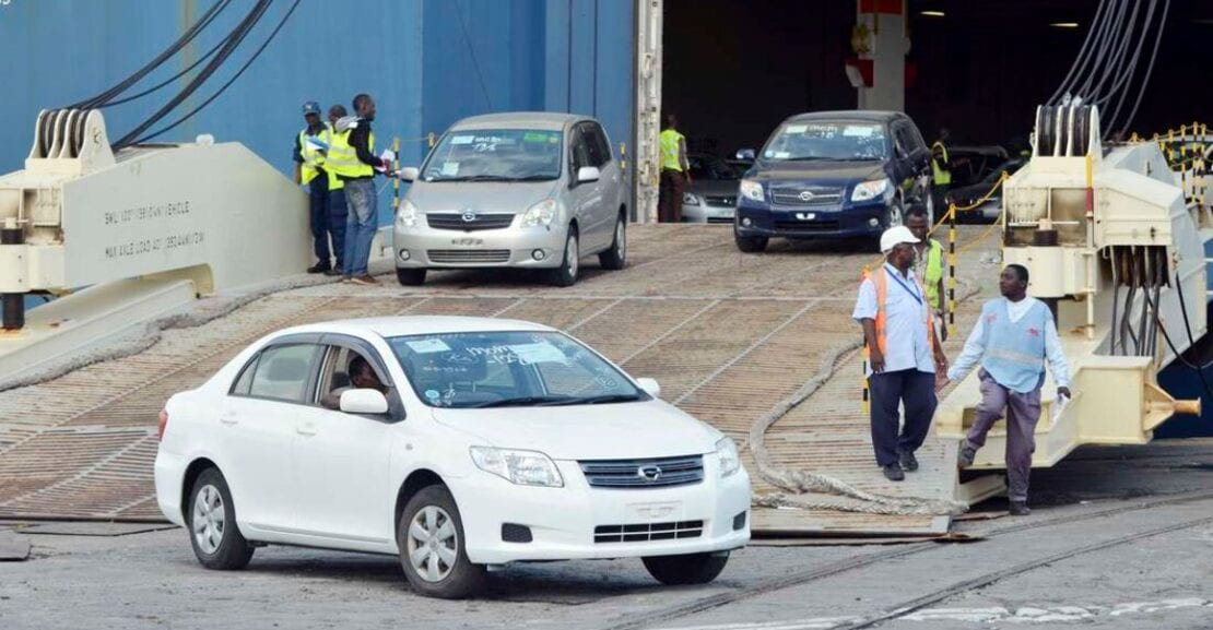 Japanese agency warns of fraud in Kenya car imports