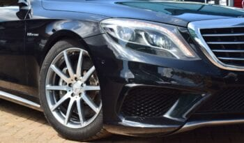 Mercedes-Benz S 63 AMG 2014 full